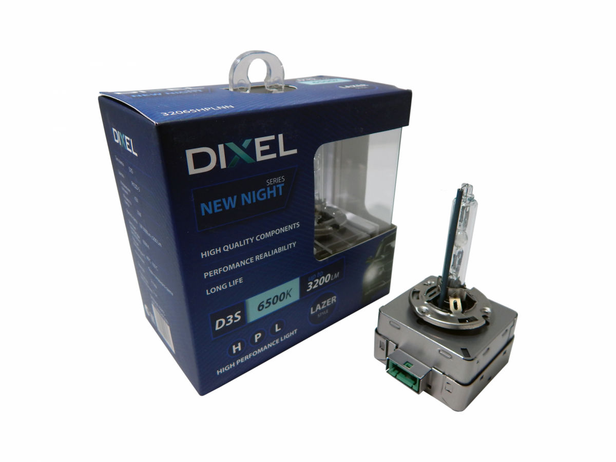 Ксеноновая лампа D3S Dixel HPL NEW NIGHT (комплект 2 шт.)