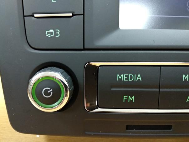 Штатная магнитола для Skoda Octavia A5