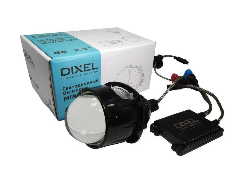 """Светодиодная билинза Dixel mini Bi-LED G6 2.5"""" 4500/5500K"""