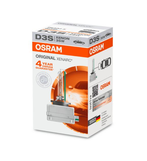 Ксеноновая лампа D3S Osram Original Xenarc 66340