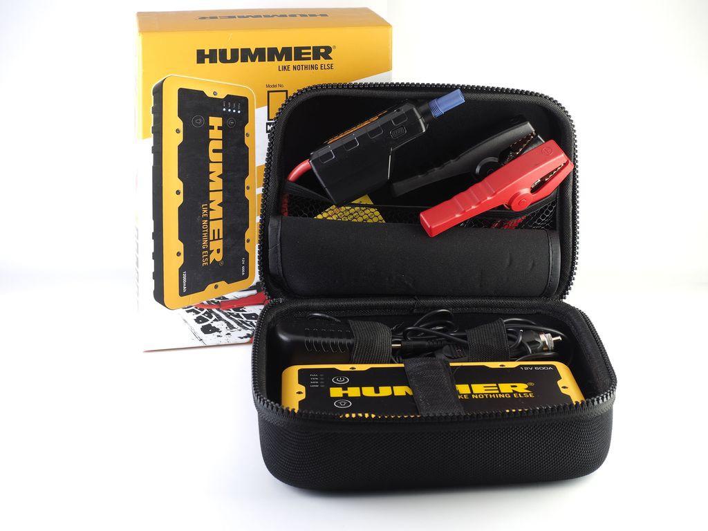 Пускозарядное устройство HUMMER H2 12000mAh