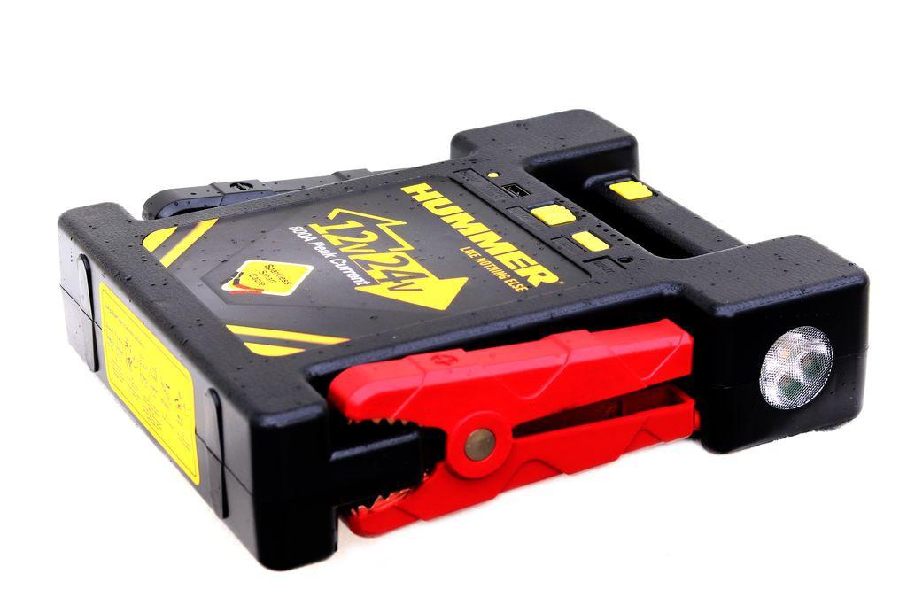 Пускозарядное устройство HUMMER H24 12/24В 12000mAh