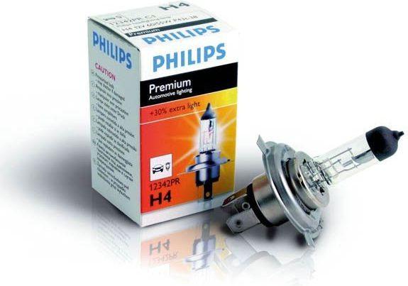 Галогеновая лампа Philips H4 +30% PREMIUM 12V 60/55W