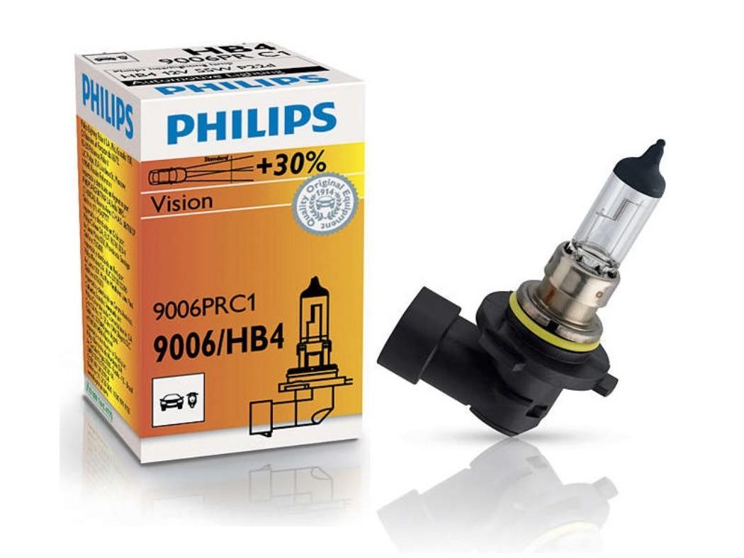 Галогеновая лампа Philips HB4 +30% PREMIUM 12V 55W