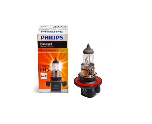 Галогеновая лампа Philips H13 12V 60/55W P26.4t