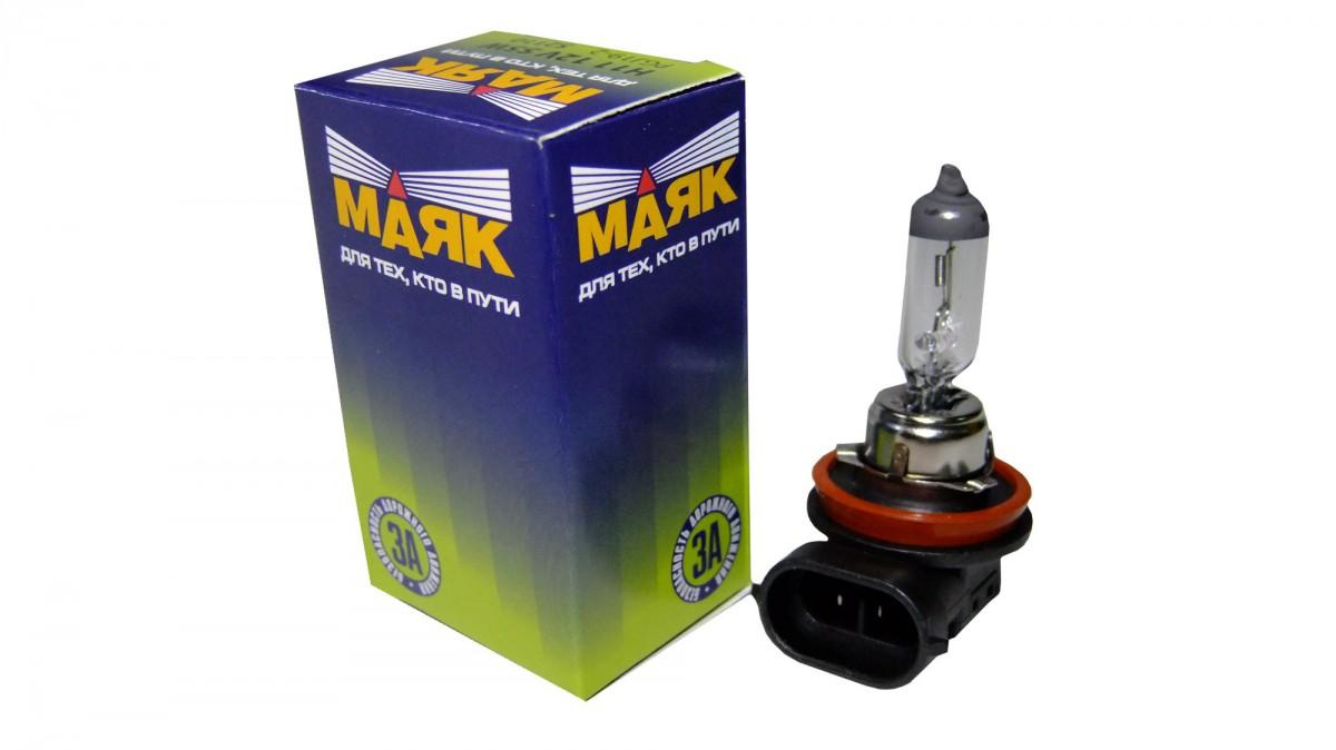 Галогеновая лампа МАЯК H11 12V 55W