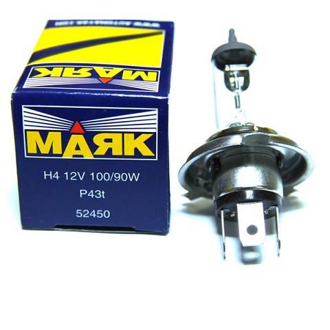 Галогеновая лампа МАЯК H4 12V 100/90W