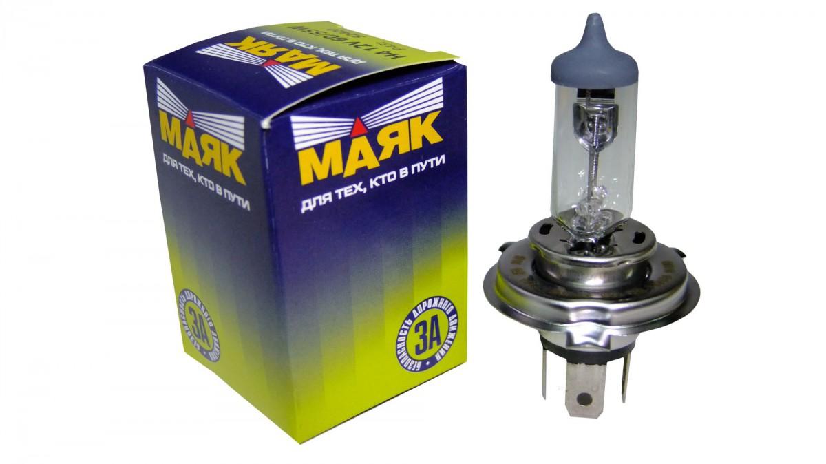 Галогеновая лампа МАЯК H4 12V 60/55W