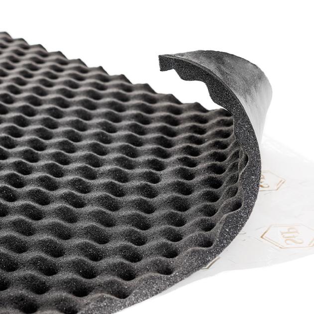 Шумопоглощающий материал StP Biplast Premium 25А (1,0х0,75)