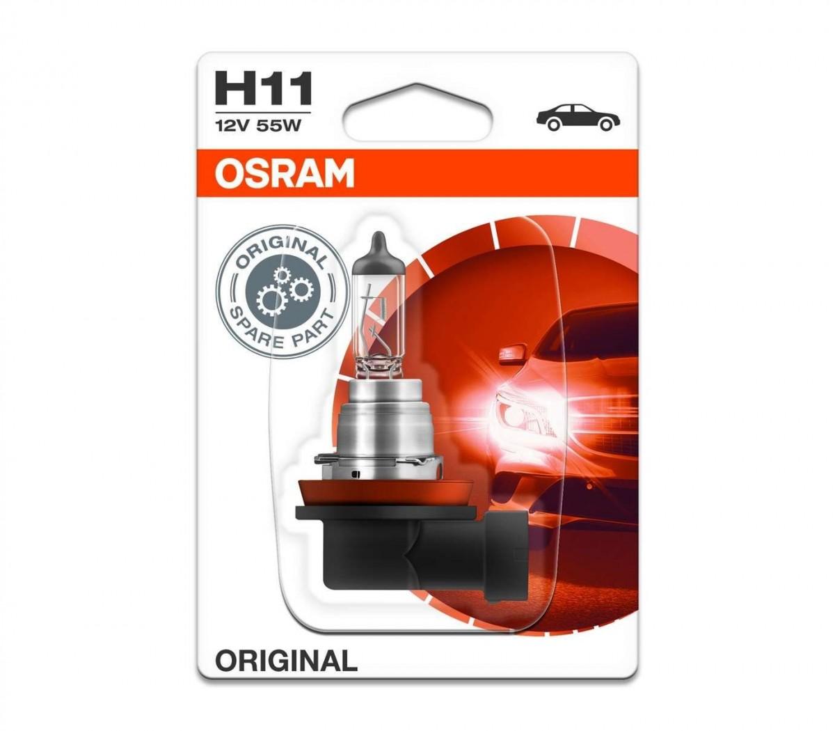 Галогеновая лампа OSRAM H11 12V 55W