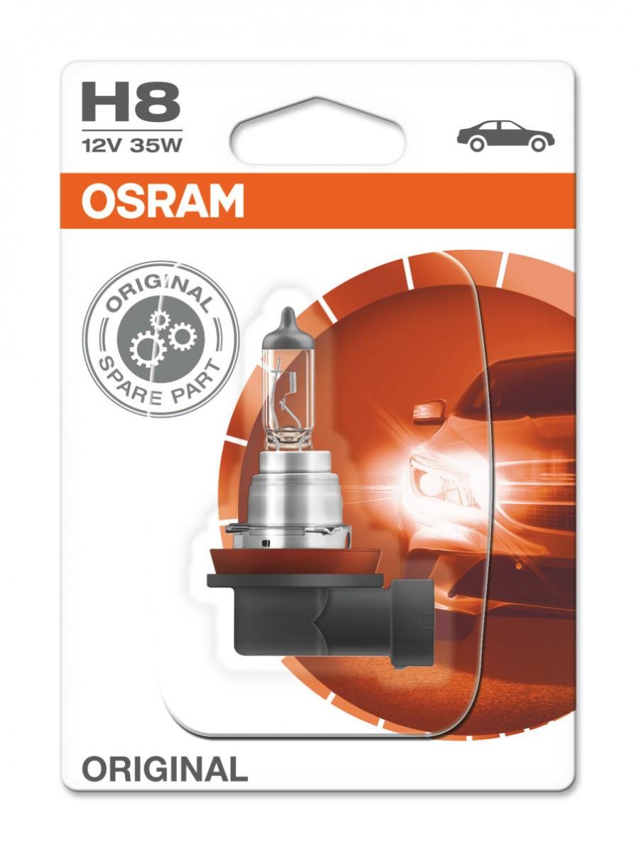 Галогеновая лампа OSRAM H8 12V 35W