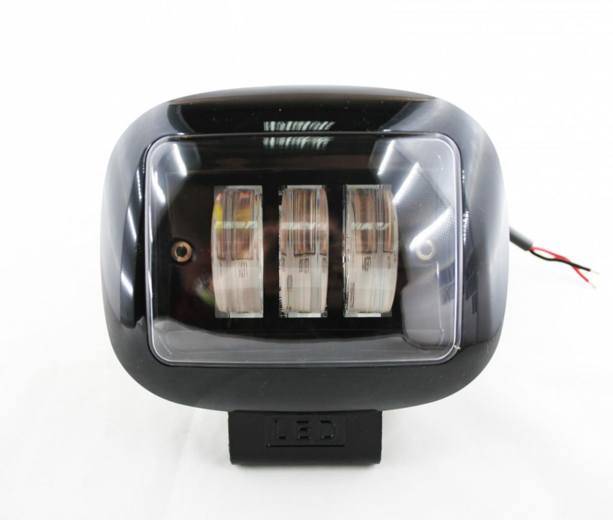Светодиодная фара Lightway 30W 13x10 см (ближний свет, ровная СТГ)