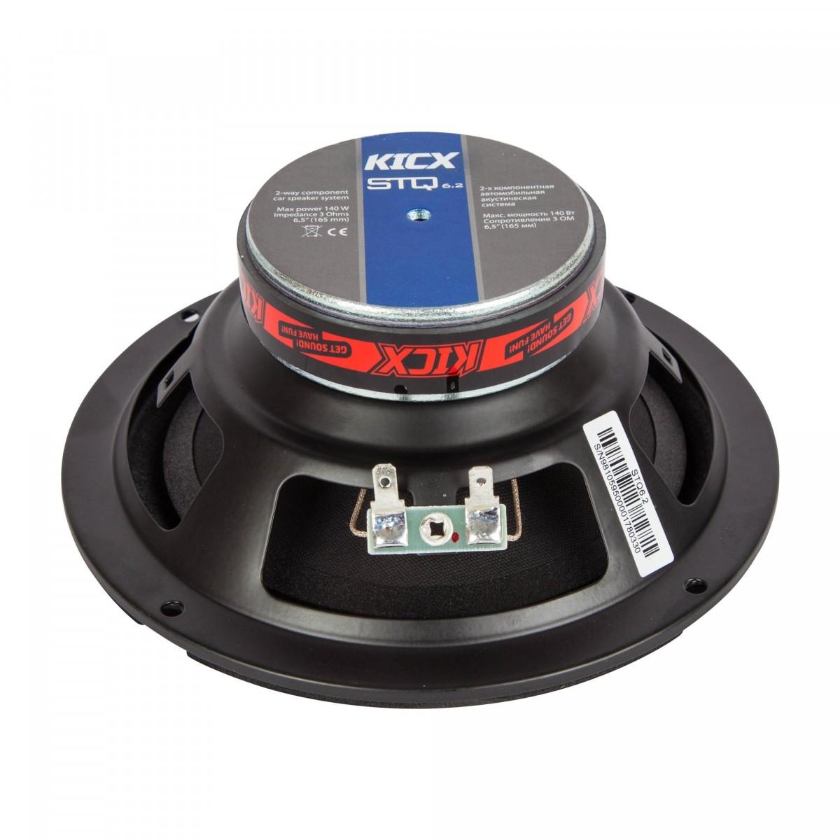 Компонентная акустика Kicx STQ 6.2