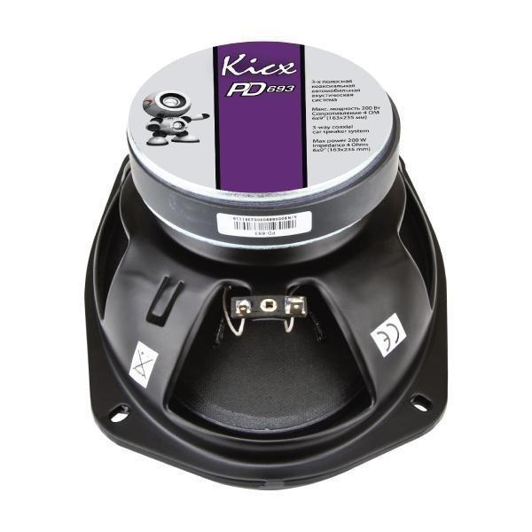 Коаксиальные динамики Kicx PD-693
