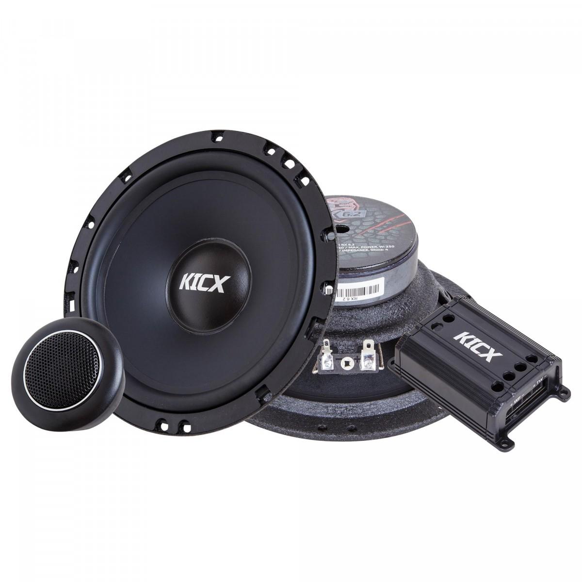 Компонентная акустика Kicx RX 6.2