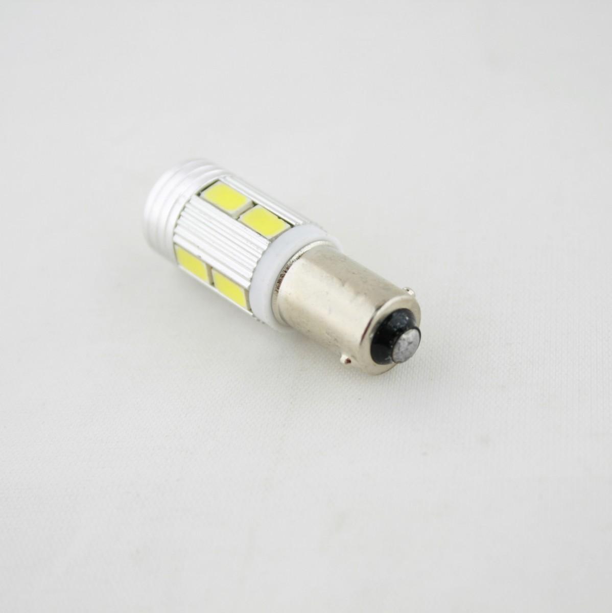 Светодиодная лампа CP (BA9S) 10SMD 5730 с линзой