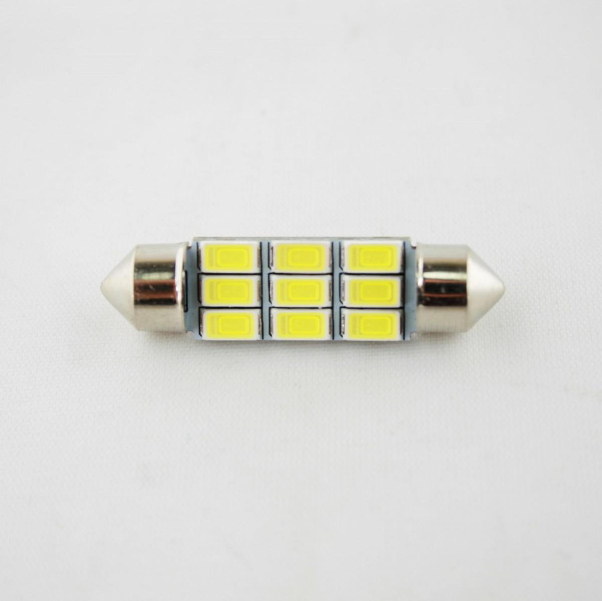 Светодиодная лампа CP (SV8.5/8) 9SMD 5630 (с обманкой) 39мм