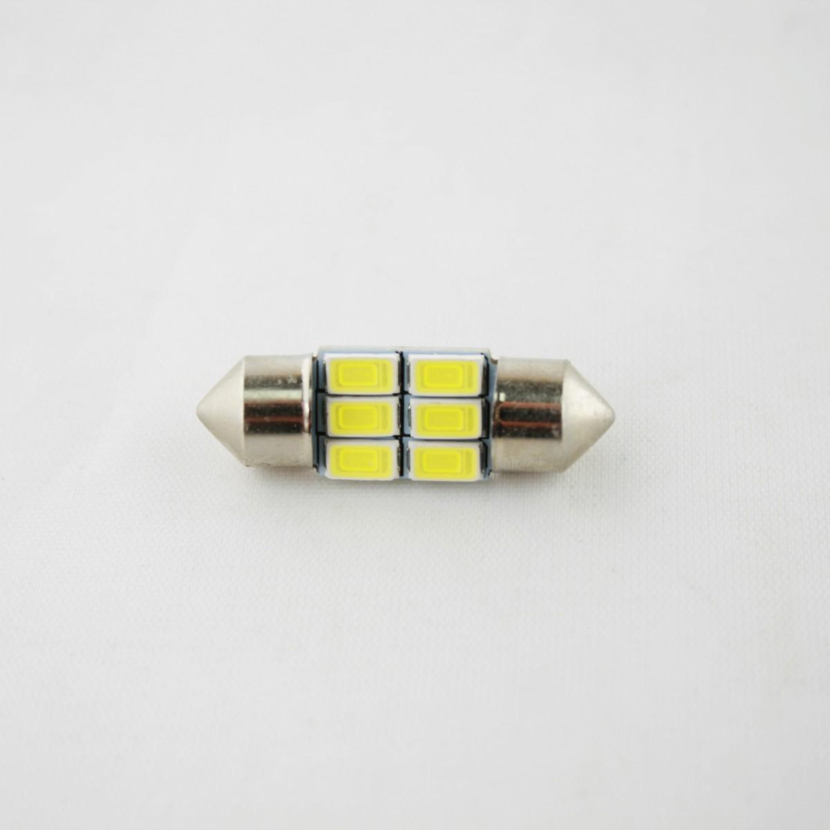 Светодиодная лампа CP (SV8.5/8) 6SMD 5630 (с обманкой) 31мм