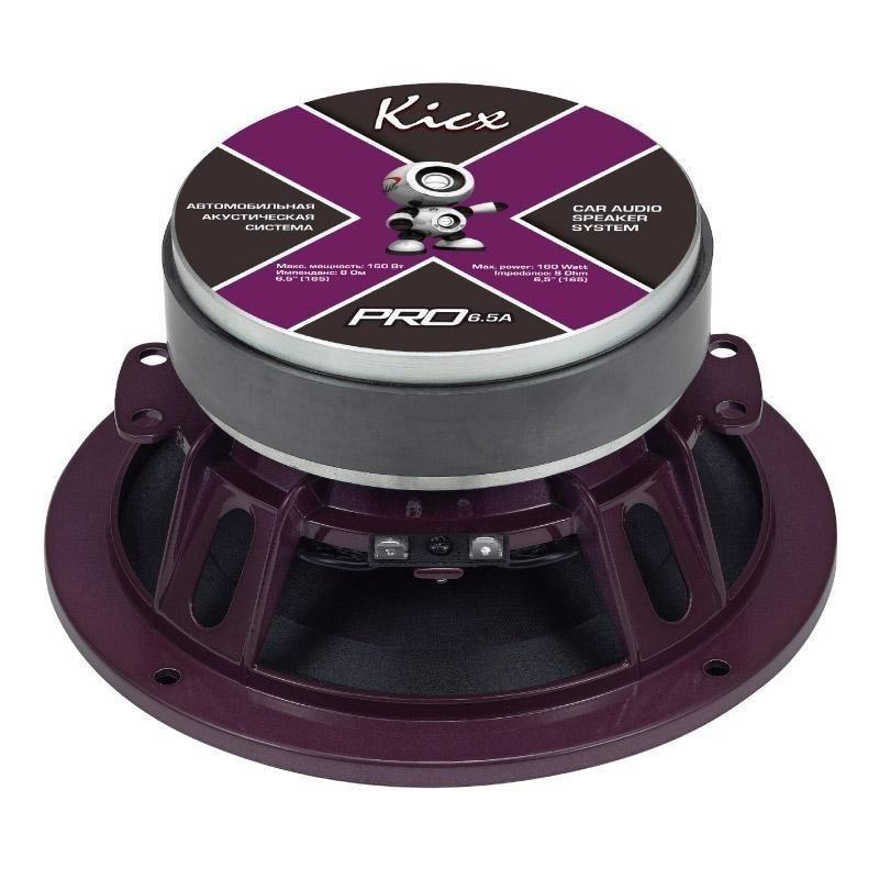 Среднечастотные динамики Kicx PRO 6,5A