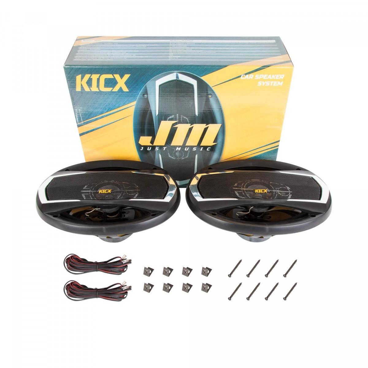 Коаксиальные динамики Kicx JM-693