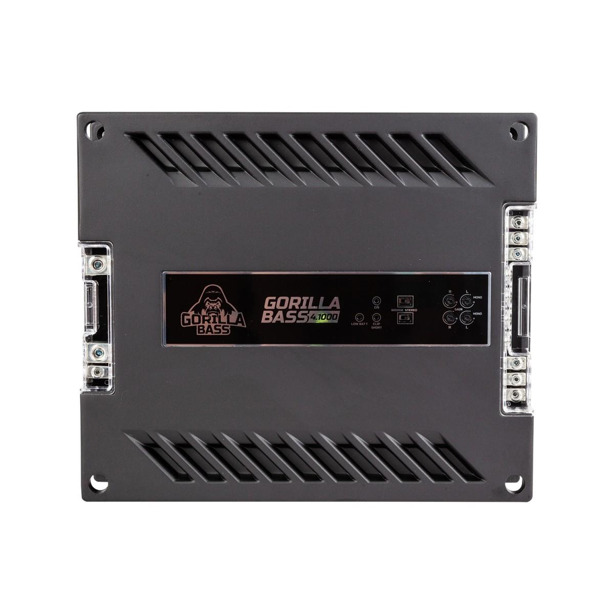Усилитель Kicx Gorilla Bass 4.1000