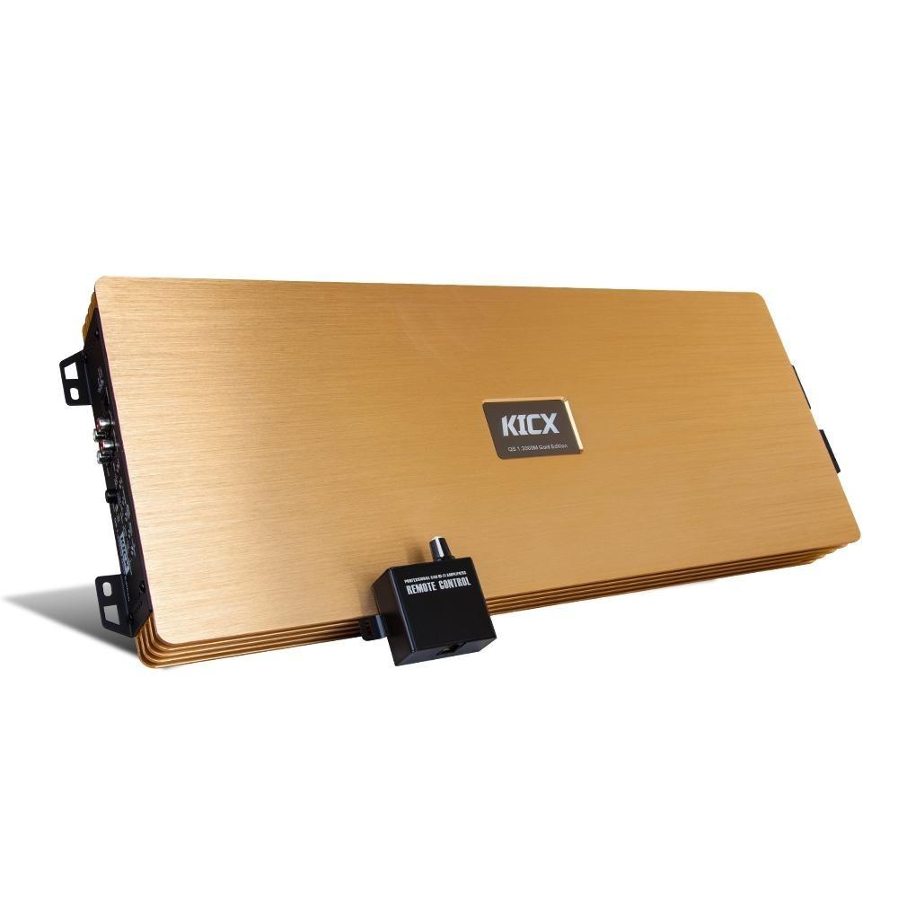 Усилитель Kicx QS 1.3000M Gold Edition