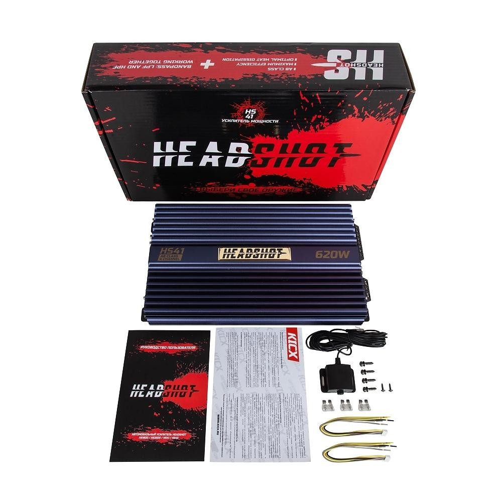 Усилитель Kicx HeadShot-41