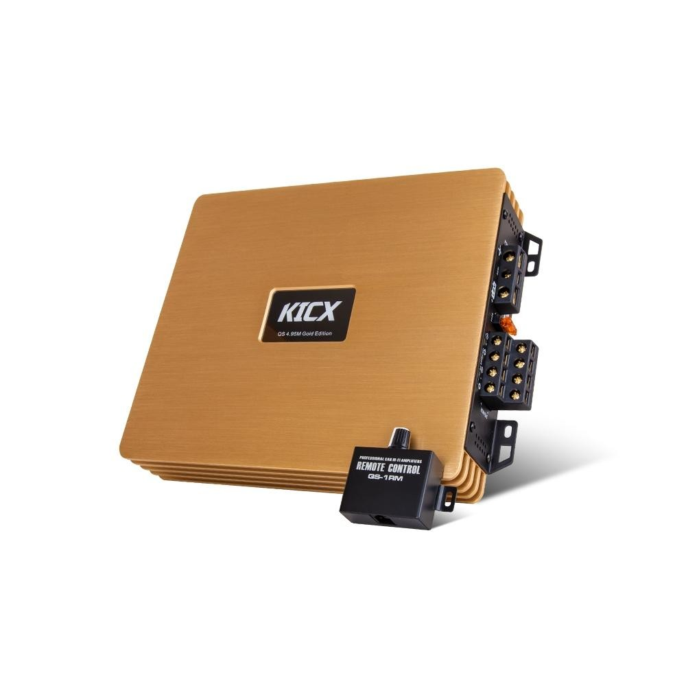 Усилитель Kicx QS 4.95M gold edition