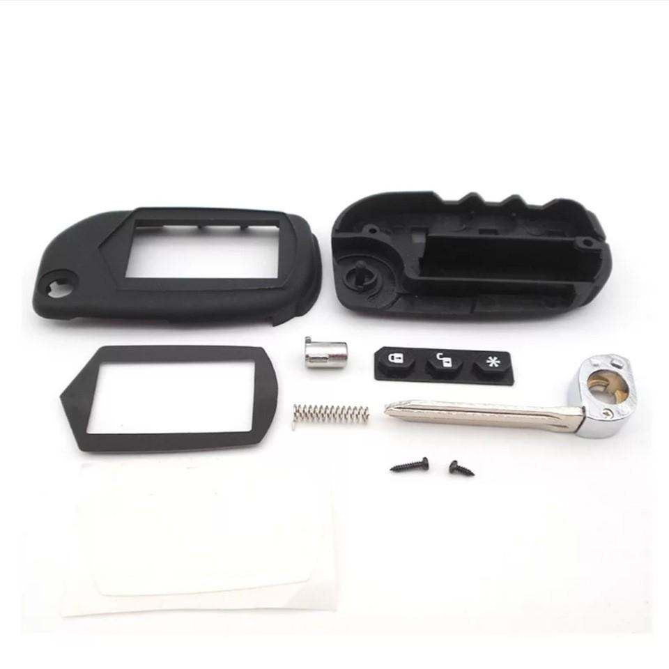 Корпус брелка StarLine B6/B9/A61/A91 + смарт-ключ (2 в 1)