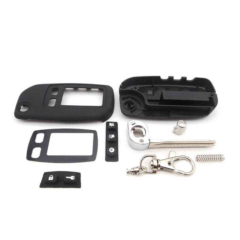 Корпус брелка Tomahawk TW-9010/9020/9030 + смарт-ключ (2 в 1)