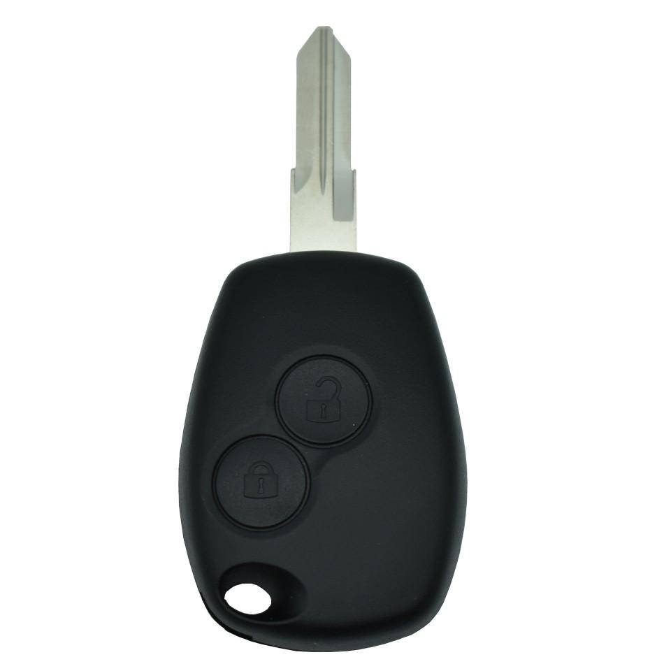 Ключ с платой прямой (REN40) Renault чип ID46(7946), (частота 433), лезвие VAC102, 2 кнопки