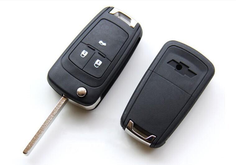 Корпус на Смарт ключ (B6130) Chevrolet выкидной, 3 кнопки