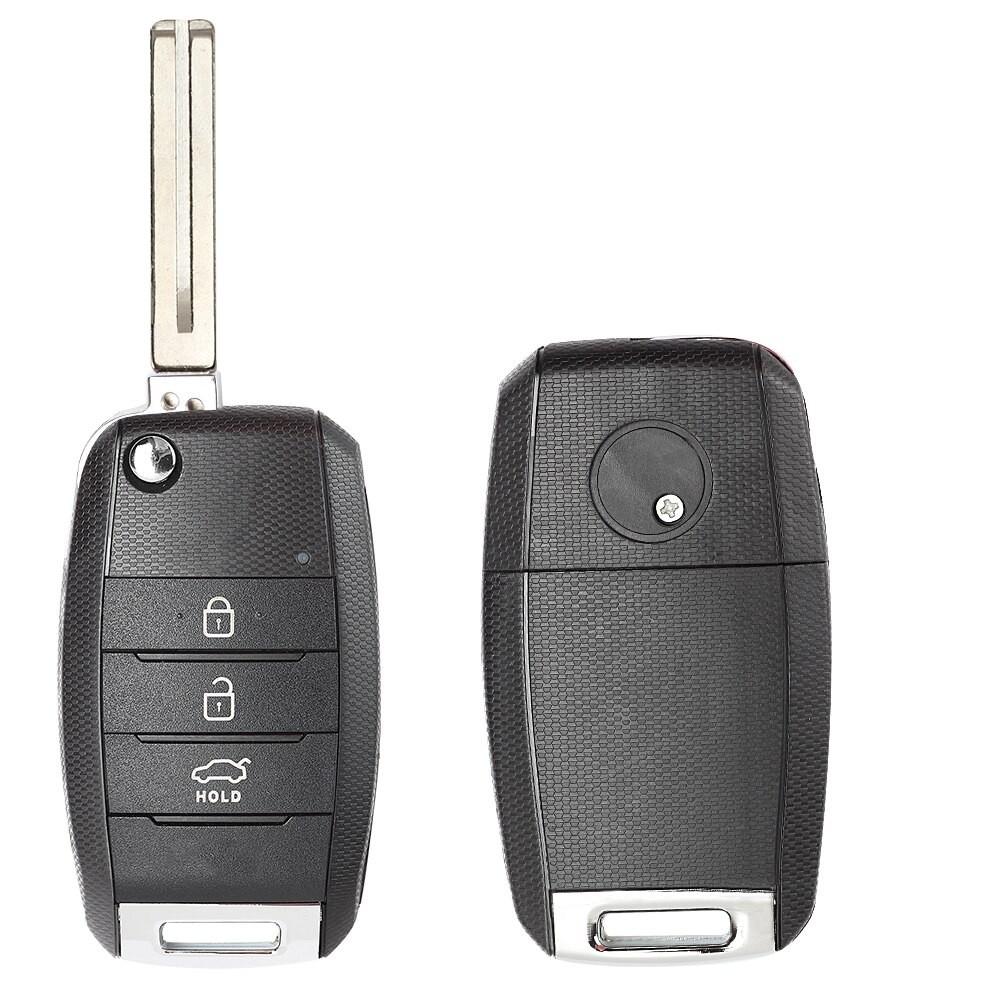 Корпус на Смарт ключ (H003) Kia Sportage выкидной, 3 кнопки