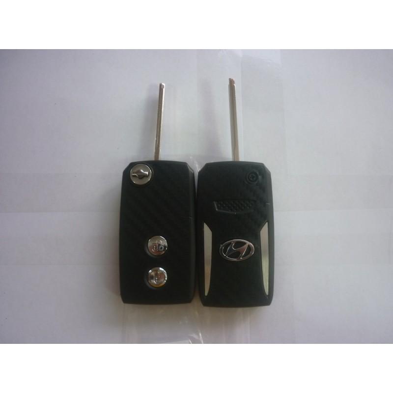 Корпус на Смарт ключ 054 Hyundai New Santa Fe