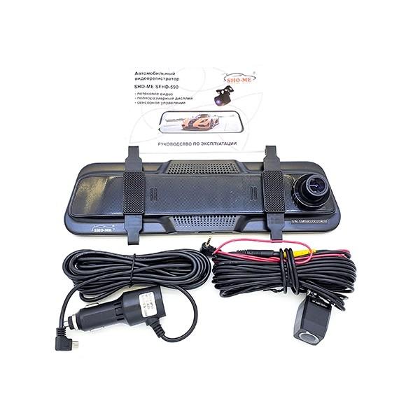 Видеорегистратор Sho-Me SFHD-590 (с камерой заднего вида)