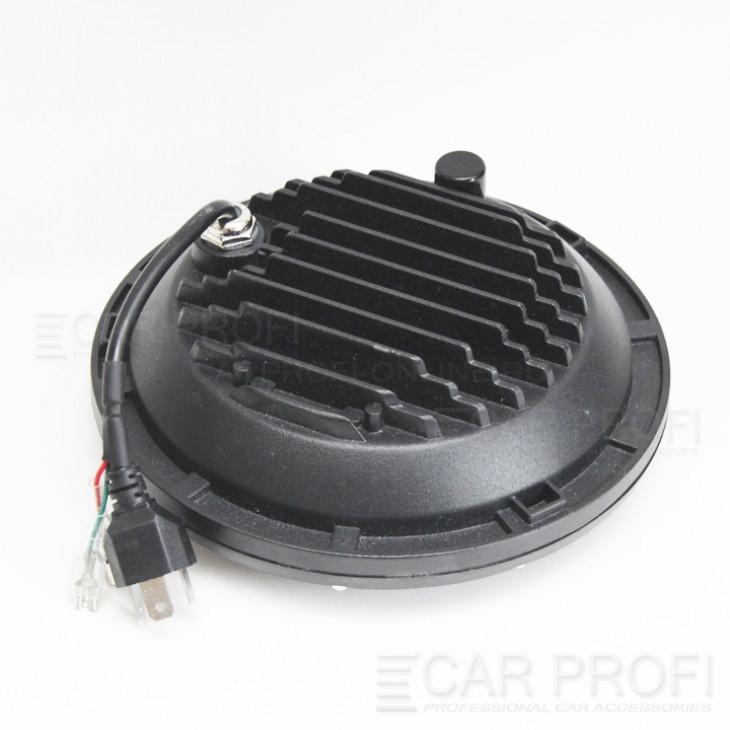 """Светодиодные фары CarProfi CP-LED-7""""-M1 +поворот (2 шт.)"""