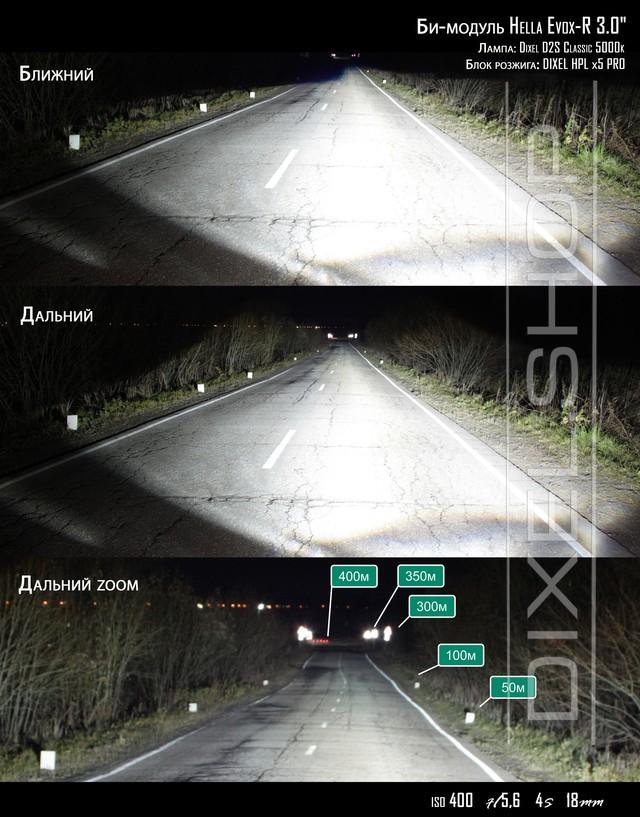 "Биксеноновая линза Hella Evox-R 3.0"" D1/D2/D3/D4"