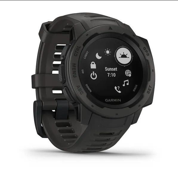 Защищенные GPS-часы Garmin Instinct, цвет Monterra Gray