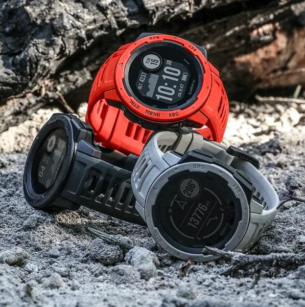 Защищенные GPS-часы Garmin Instinct, цвет Tundra