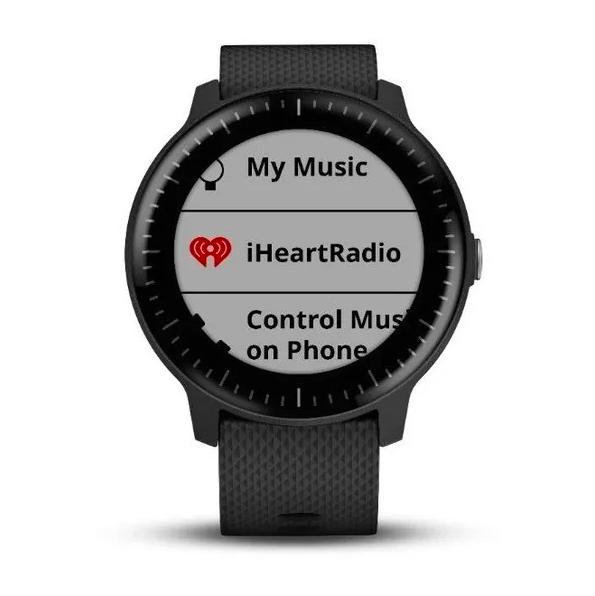 Часы Garmin Vivoactive 3 MUSIC, с функцией GARMIN PAY, черные