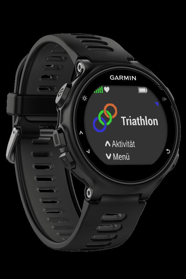 Часы Garmin Forerunner 735XT Black&Gray HRM-Run