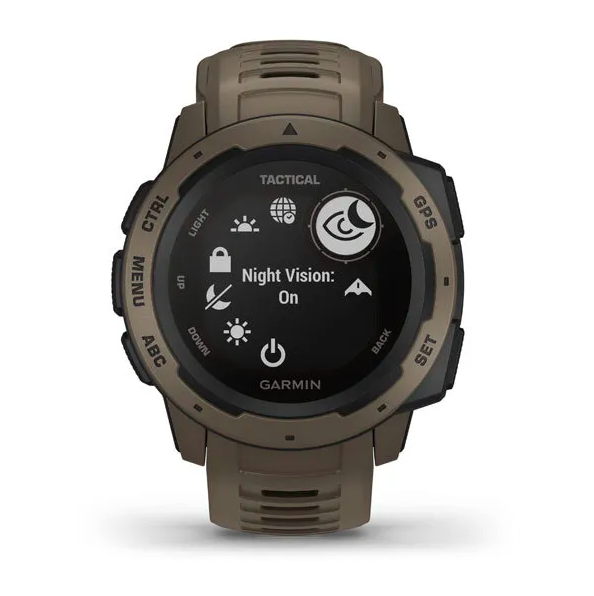 Защищенные GPS-часы Garmin Instinct Tactical, цвет Coyote Tan