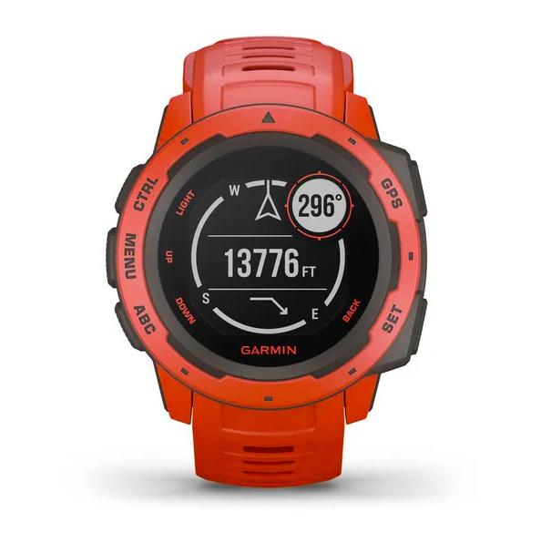 Защищенные GPS-часы Garmin Instinct, цвет Flame Red