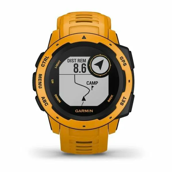 Защищенные GPS-часы Garmin Instinct, цвет Sunburst