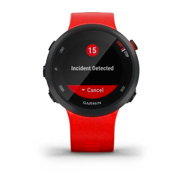 Часы Garmin Forerunner 45 GPS, Red, большой размер