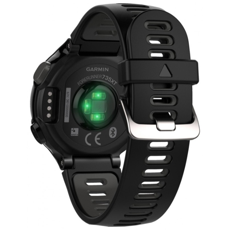 Часы Garmin Forerunner 735XT Black&Gray с 2 датч.ритма сердца: бегплав.
