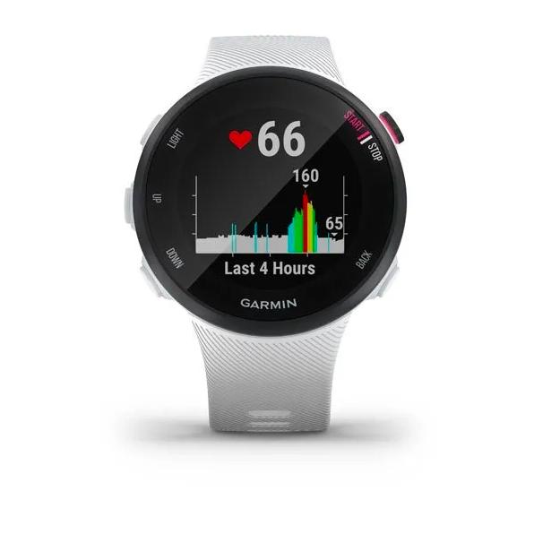 Часы Garmin Forerunner 45 GPS, White, малый размер