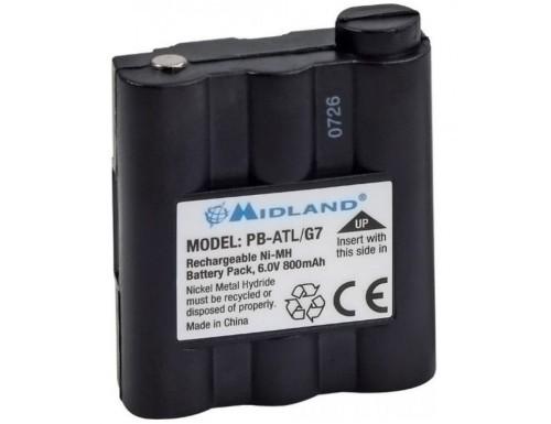 Аккумулятор Midland PB-ATL/G7 (для GXT-серии)