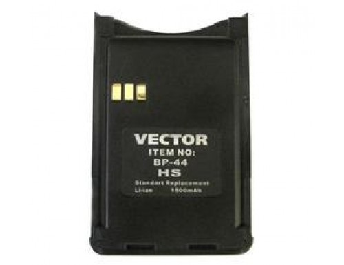 Аккумулятор для Vector VT-44 HS
