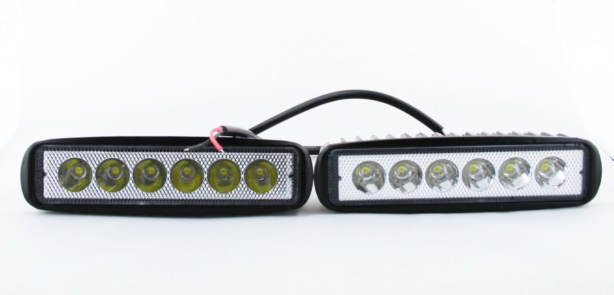 Светодиодная фара Lightway 18W Spot (дальний свет)
